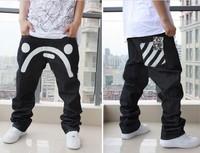 2014 Freeshipping Mid New Perfume Men Men Jeans Jeans. Haroun Pants. Big Yards of Street Dance Pants/board Shorts/hip-hop Style