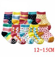 DD&SS Kids' Socks Girls' Cute Sweety Socks Baby Colorful Antiskid Socks Children's Clothing KSK9002 Free Shipping