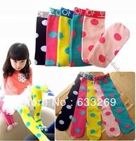 DD&SS Kids' New Arrival Socks Girls' Cute Sweety Socks Colorful Polka Dot Socks Children's Clothing KSK9001 Free Shipping