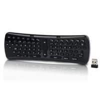 2014 Free Shipping Wireless Mouse 2.4GHz Mini Fly Air Mouse Gyro Sensing Keyboard For PC Android TV Box Tonsee