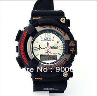 Top brands Frogman watches dw8200 double disc hipsters sport electronic watches