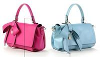 Free Shipping 2014 New Arrival Women Handbag Leather Shoulder Bag Women's Messenger Bag lady butterfly style handbag p74