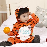 2014 Baby cute Tigger Romper /baby Hoodies Sports sleepsuit bebe rompers boy bodysuits infants wearing free shipping
