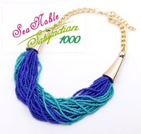 European Style Bohemian Temperament Short  Gold Chain Necklaces&Pendants