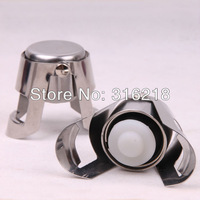 New Hot Selling Stainless steel Champagne stopper/champagne wine stopper wine bottle tampion 30pcs/lot free shipping