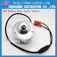 CCTV Fisheye 180 Degree View 600TVL Resolution CCD Wide Angle Waterproof Camera