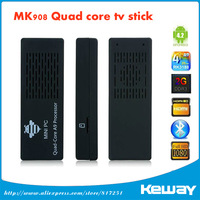 MK908 RK3188 Quad Core Android 4.2.2 Mini PC TV Box 2G RAM 8G rom Bluetooth 4.0 tv dongle Google TV Free Shipping
