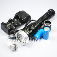 TrustFire TR-J10 SST-90 Memory 5 Modes 2200LM Led Flashlight +2pcsx 25500 Battery + charger Free shipping
