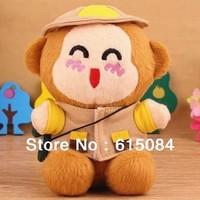 Hot Sale Original Portable Cute Cartoon Hat Monkey Power Bank 2200mAh For Samsung Galaxy S3 S4 Mini Note 2 3 Smartphone Freeship