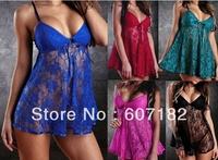 Sexy Lingerie Nightwear Underwear Ladies Sleepwear Babydoll G String Lace