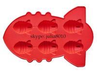 Creative DIY tool creative ice mold  atomic bomb design ice cube silicone ice tray ice maker wholesale 20pcs/lot