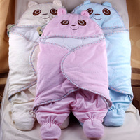 New 2014 wholesale Baby sleeping bags newborn holds autumn and winter velvet infant dual-use Blanket baby supplies
