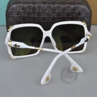 2014 new arriving luxury high quality sunglasses elegant retro exquisite eyeglasses big frame box eyewear white feet sun glasses