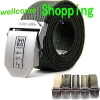 military tactical trainer airsoft paintball hiking camping belt Strengthening Canvas casual Waistband free shipping