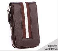 100% Genuine Leather key wallets men wallets famous brand genuine leather women wallet NEW 2014 bag for keys 201402252B