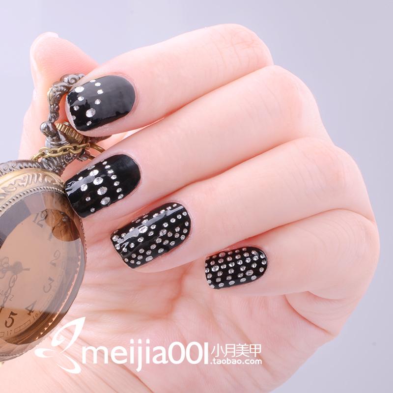nail polish oil finger sticker nail art false nail patch melodi(China