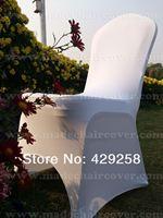 Free Shipping White 230gram Spandex Banquet Chair Weddings /Lycra Chair Cover/Banquet Chair Cover