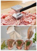 free shipping stainless steel hammer  kitchenware meat hammer steak pork chicken hammers chop novelty Eco-friendly