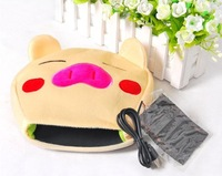 Free Shipping Modern Design Pig Usb Warm Hand Mouse Pad