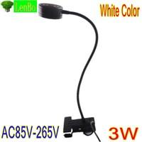 3*1W White Color eyeshield solar High quality desk light table lamp portable reading lamp LD53