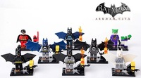 Batman Series SY182 Robin Joker 8pcs/lot Building Block Sets Educational DIY Bricks Toys For Children No original box