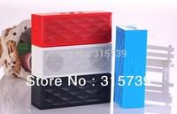 New jambox style mini bluetooth speaker cube speaker bluetooth car speakers for iphone 5 5s samsung Galaxy s4 i9500 20pcs/lot