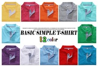 The new spring and summer 2014 han edition men's fashion joker short-sleeved t-shirts, POLO shirts,11 color 5 size