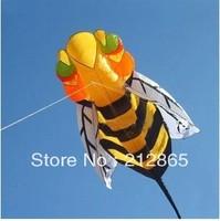 Free Shipping!! 2.8m Bee soft Kite children kite outdoor toys power kite ,Sport kite /Stunt kite /Power kite