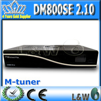 DM800HD se digital Satellite TV Receiver with ALPS M tuner and sim 210,The TV Decoder support Enigma2 free shipping
