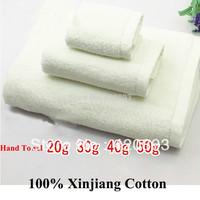 Wholesale 100% Cotton 16S White Color 30*30cm Hotel Hand Towel 500GSM  White