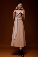 2014 tide female in the spring and autumn outfit han edition dress coat dust coat