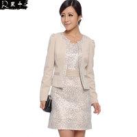 2014 spring slim one-piece dress spring and autumn ol elegant work wear women's skirt 2140 - 1