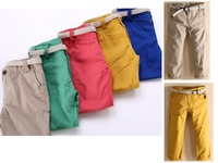 Free Shipping 2014 Spring Autumn New Arrived Children's/Child Casual Pants 100% Cotton 5colors 2-9y