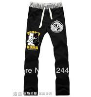 Free Shipping 2014 NEW Style Super Dangan Ronpa 2 Cosplay Trousers Slacks sport pants Anime peripheral
