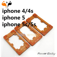 3pcs/lot High quality LCD RefurbishmentMould Molds for iphone 4/4s 5 5s/5c Precision Screen Refurbishment for free shipping