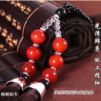 Car pendant natural agate quality the car hangings exhaust pipe peace symbol