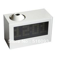 Free Shipping Digital Projection Clock Snooze Alarm LED Backlight Calendar Thermometer Timer