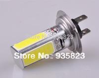 2pcs Car H7 Low Beam Light Bulbs PX26D Halogen Xenon Super White 3528 6000K 12V 20 W  Fog Lamp Free Shipping