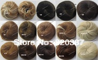 Fashion Clip in Bun Hair Chignon Bun Wig Hair Ponytail Drawstring Bun Hairpieces Pony Tail Hair Pieces 14Colors Optional 1pcs