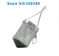 10PCS MINI Stainless steel Bait Thrower fishing lure cage fly bait cage Play nest device