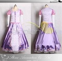 2014  Newest most popular Rapunzel princess dress for dance party