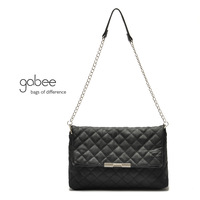 2014 New Fashion Quilting Black Cross body,Clutch,Women's Handbag,Chain Shoulder Bag, Messenger Bag