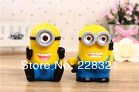 5200mah Cartoon Despicable me  Battery charger Power Bank for iPhone iPod Samsung HTC with micro usb cable + retail box 20pcs
