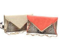 2014 New Color Block Snake Print Leather Chain Crossbody,Clutch,Evening Bag,Messenger bag,Women's Handbag