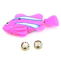 Novel Robo Electric Toy Pet Raw Fish With Aquatic Gift for Kids Children Promotion