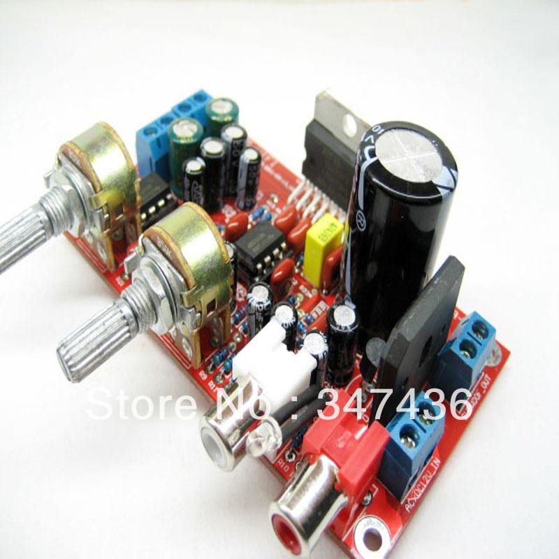 Tda7377 2.1 de três canais subwoofer amplifier kit especial(China (Mainland))
