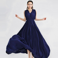 M-L Free Shipping 2014 New Arrival Star Favoited T-Stage Show Double v Draped Elegant Celebrity Evening dress With belt140226#4