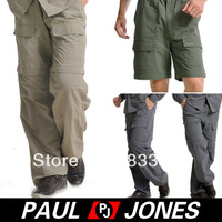 Free Shipping PJ Men's Outdoor Sports Long Quick-Drying Pants Trousers 4 Size XS~L OD16