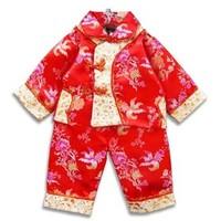 Autumn child female child tang suit birthday formal dress baby tang suit baby tang suit set