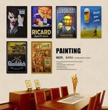 popular beer signs vintage